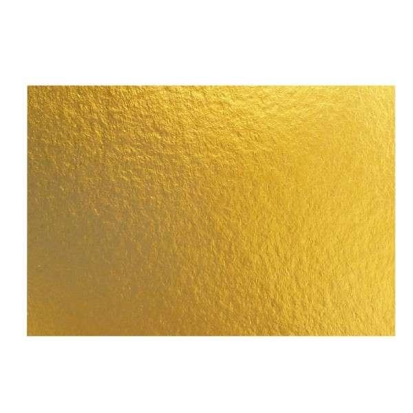 Goldpappen 3 mm, rechteckig 34 x 24 cm, 25 Stück