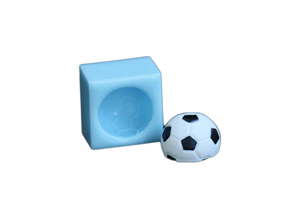 Silikonform Fußball