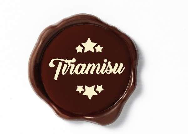 Schokoladenaufleger Tiramisu