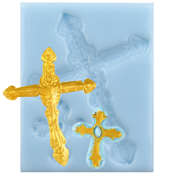 Silikonform Kreuz
