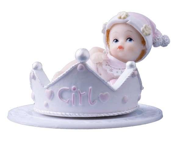 Baby in Krone Mädchen