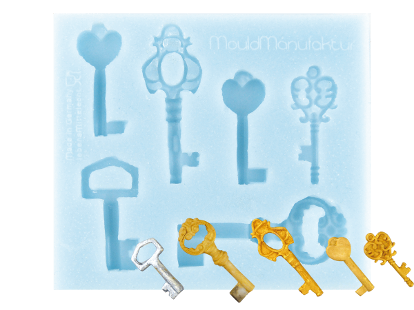 Silikonform Schlüssel