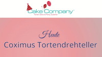 Tortendrehteller COXIMUS 230 × 150 mm