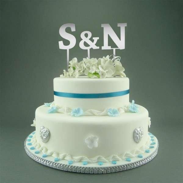 "Cake-Topper ""&"" Straight dick Spiegel"
