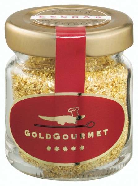 Goldflocken 300 mg 22 Karat