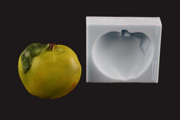 Silikonform Apfel