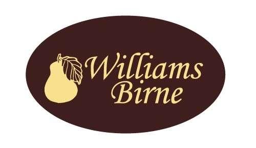 Tortendekoration Schokoladenaufleger Williams Birne