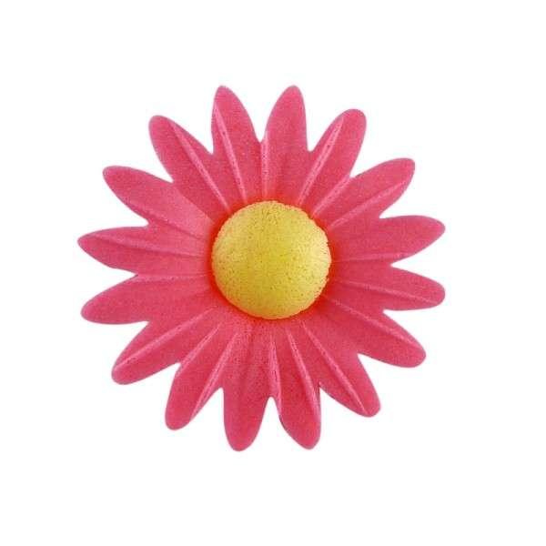 Esspapier Margerite pink 45mm 100Stck