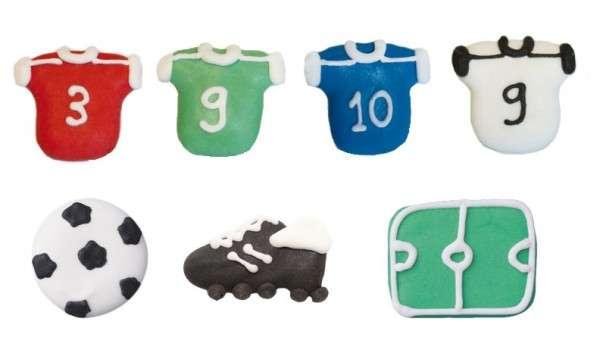 Zuckerdekoration Fußball