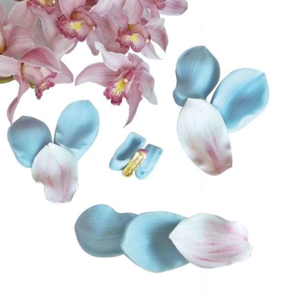 """Veiner """"Cymbidium Orchidee"""" (Set mit Center ) 8-teilig"""
