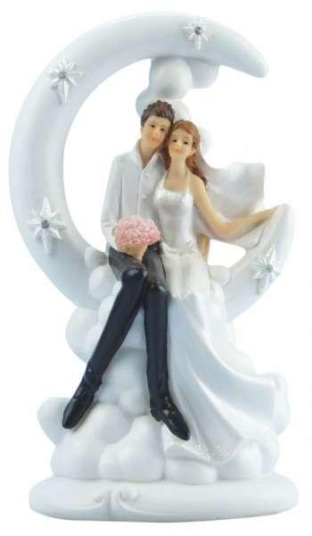 Brautpaar im Mond