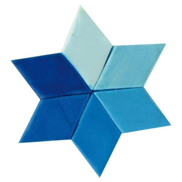 Gelfarbe Blau