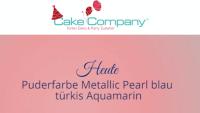 Puderfarbe Pearl Aquamarin 3g