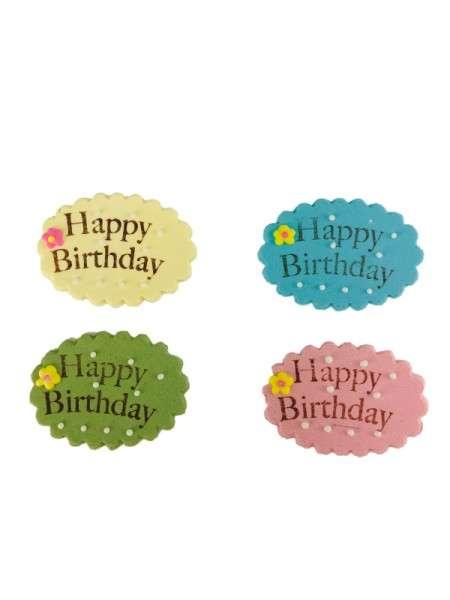 Zuckerdekoration Geburtstag