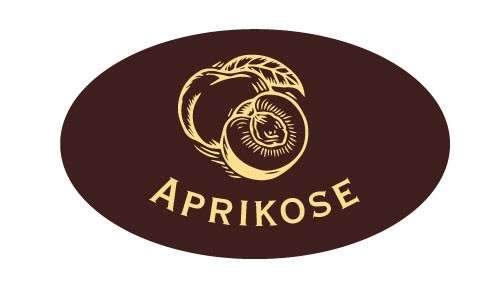 Tortendekoration Schokoladenaufleger Aprikose