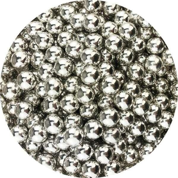 Chocoballs Silber groß
