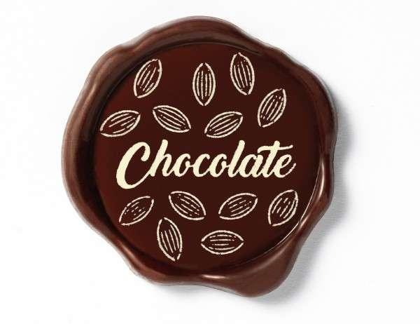 Schokoladenaufleger Chocolate