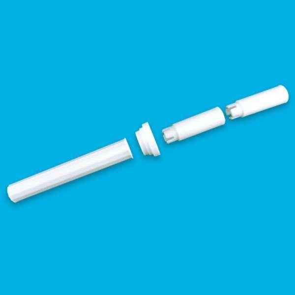 Säulen weiß 3-teilig für SPS-SteckSystem