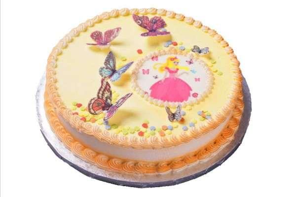 Dekoset Torte Prinzessin