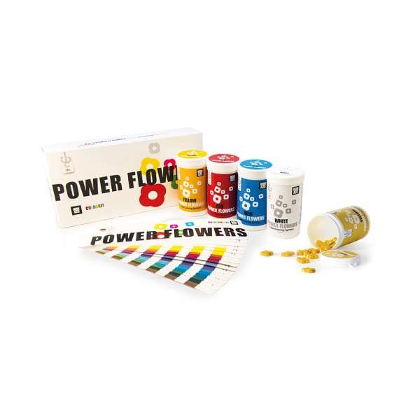 Farben-Set Power Flower