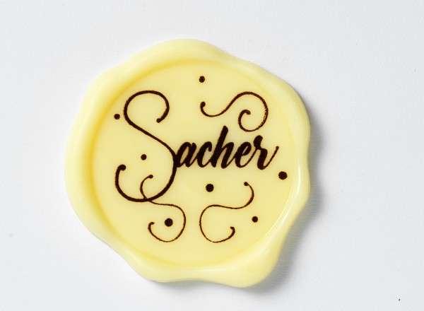 Schokoladenaufleger Sacher