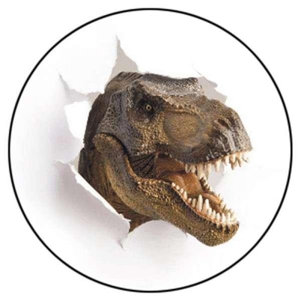 Tortenaufleger Dinos braun 20cm