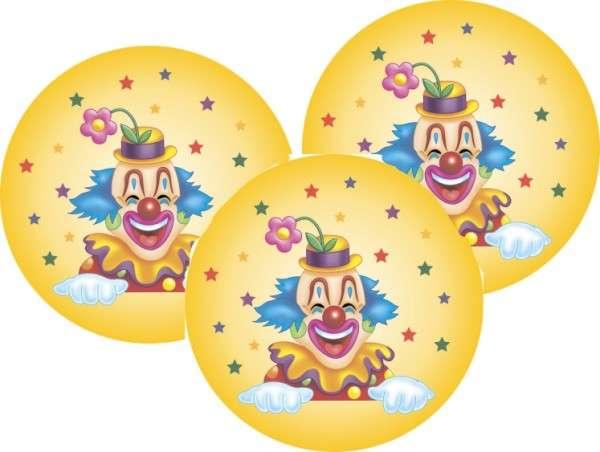 Tortenaufleger Clown 40mm 12 Stck