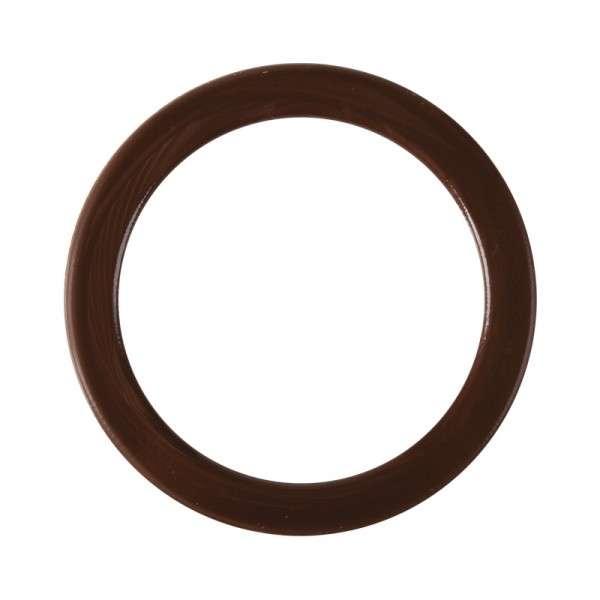 Schokoladendeko Ring Zartbitter: 110mm, 10 Stk.