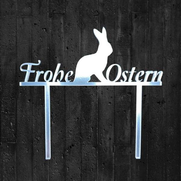 Cake Topper Frohe Ostern