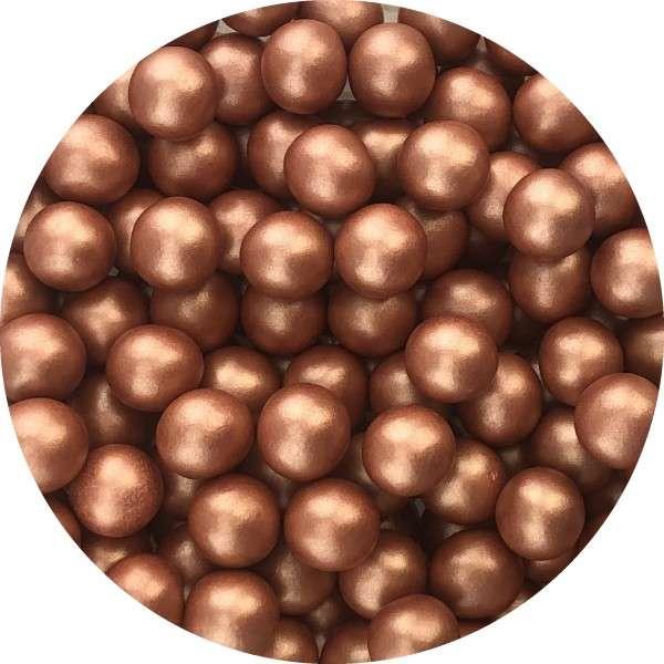 Chocoballs Metallickupfer groß