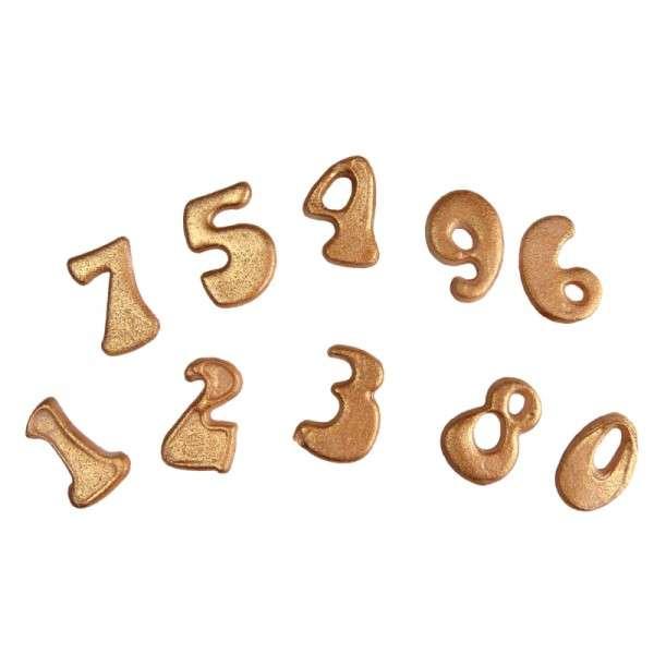 Click Stick Zahlen COXIMUS Zahlengröße ca. 25mm