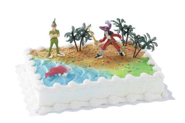 Tortendekoration Peter Pan