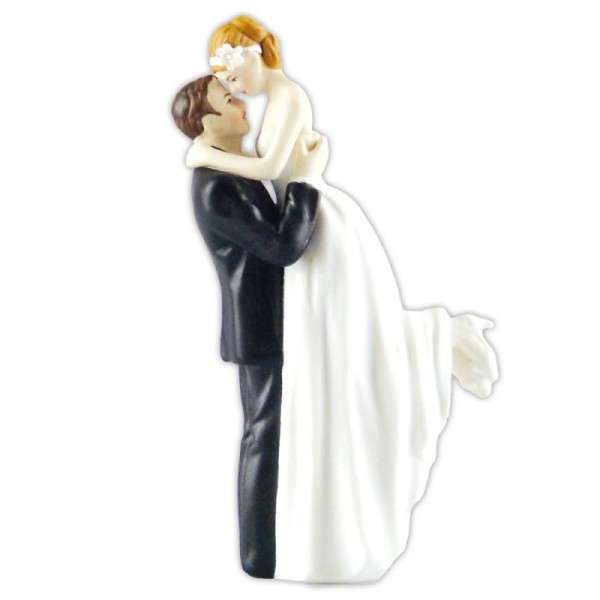 Hochzeitsfiguren Brautpaar verliebt