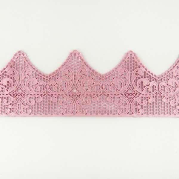 """Sweet lace-rosa """"Spitzenrand"""" 38x7,5cm essbare Spitze - fertig zum Gebrauch"""