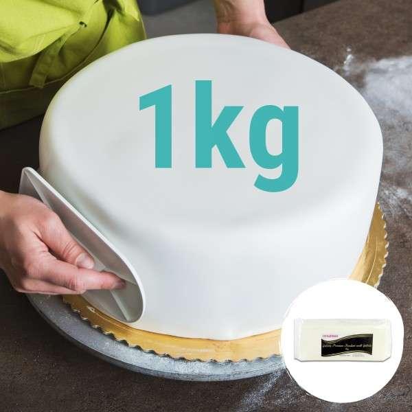 weißer Fondant Premium 1 kg