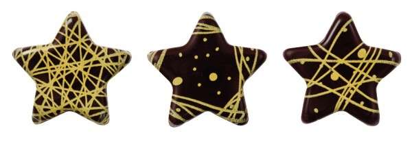Schokoladensterne Gold Mini ca.22mm 264 Stck