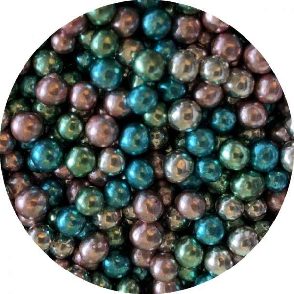 Zuckerperlen Mix Metallic ca.4mm 60g