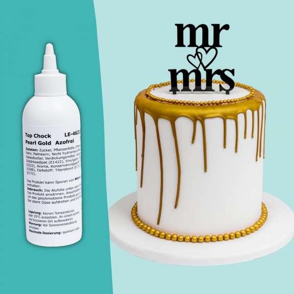 Top Choc Drip Cake Gold Titelbild