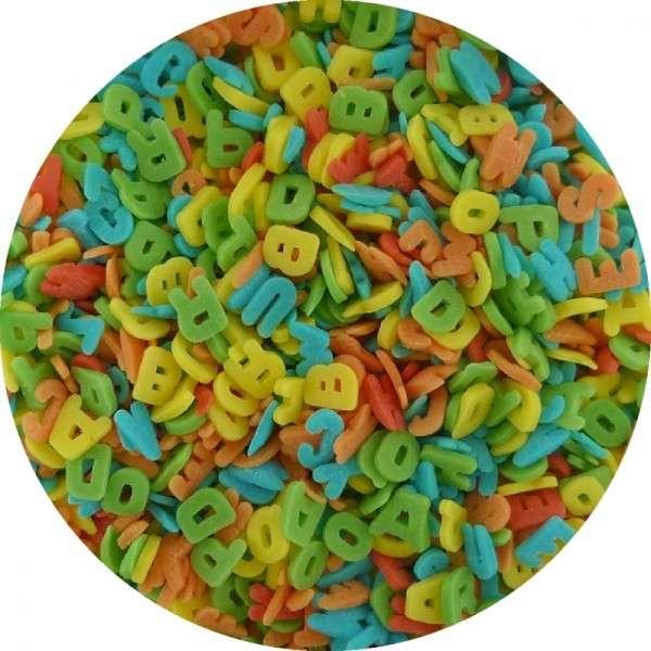 ZuckerKonfetti Buchstaben Bunt 2000g