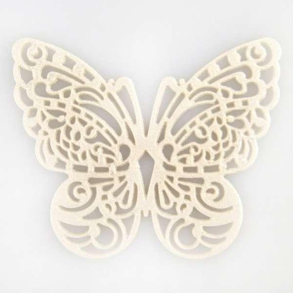 """Sweet lace-perlmutt """"Schmetterling"""" ca.5x6cm essbare Spitze - fertig zum Gebrauch"""