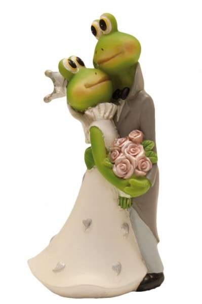 """Brautpaar """"Frosch küssend"""""""