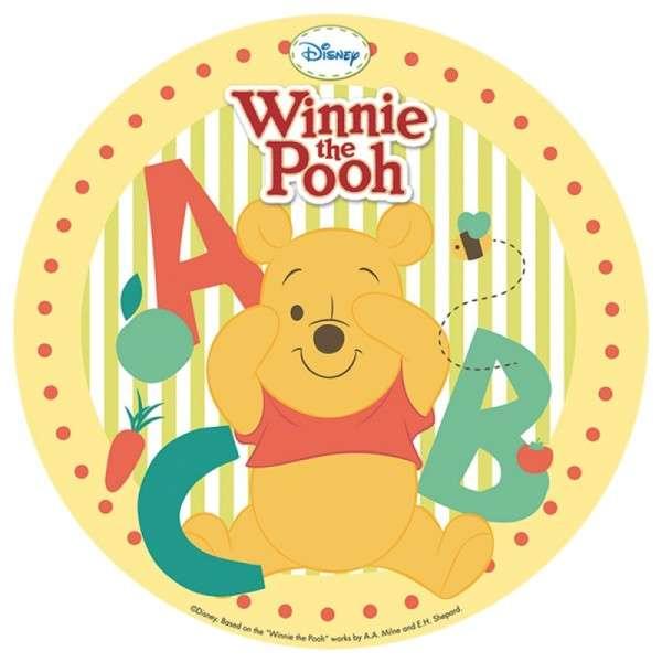 Winnie Pooh - Esspapieraufleger 20cm 12Stück