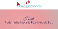 Puderfarbe Metallic Pearl kobalt-blau 25 gr